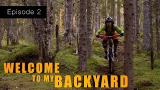 Welcome to my backyard | Ep02 | Norwegian enduro biking 2015 ( 5K )