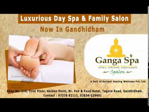 Ganga Spa Presentation Gandhidham|Spa Centre Presentation|Digital  Presentation|Family Salon|Video Ad
