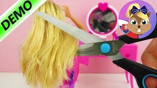 Barbie premena | Barbie u kaderníčky | Kriedy na vlasy | Hra na kaderníctvo | Ako učesať Barbie
