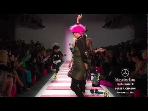 BETSEY JOHNSON: MERCEDES-BENZ FASHION WEEK FALL 2013 COLLECTIONS