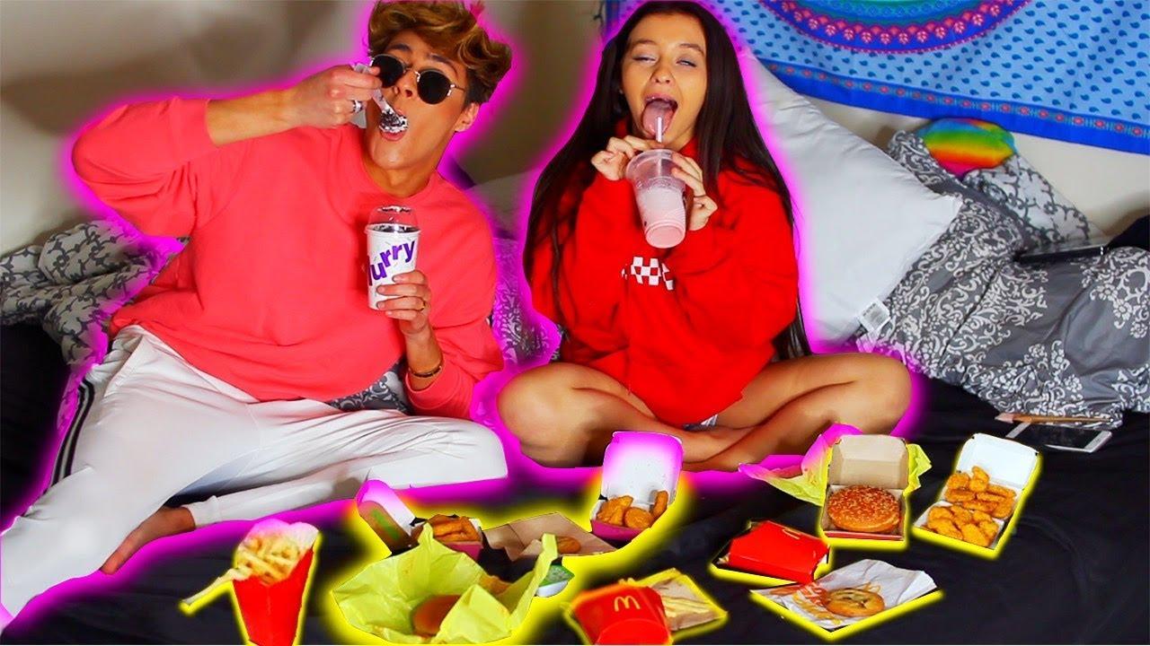 Mcdonalds Nuggets Fries Cheeseburger Mukbang W Danielle Cohn