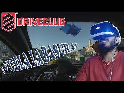 PlayStation VR Demo | DRIVE CLUB VR | FERNANDO ALONSO EN LA CIUDAD