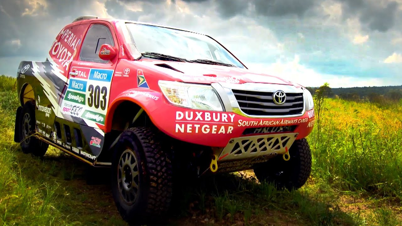 Trying A Lap In A Dakar Rally Car - Fifth Gear