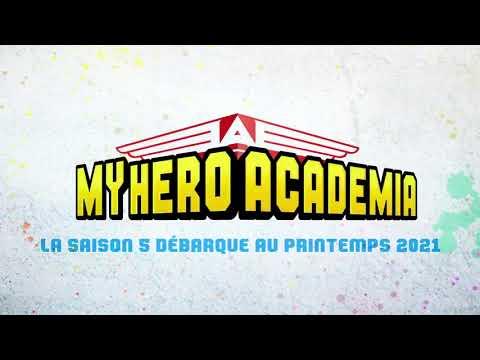 Regarde My Hero Academia saison 5 sur ADN !
