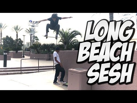 SKATERS SESH LONG BEACH AND MUCH MORE !!! - NKA VIDS -