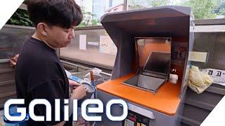 Erfolg mit RFID: Wie Koreas High-Tech Mülltonnen funktionieren | Galileo | ProSieben