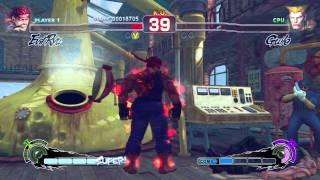 Super Street Fighter IV AE - Evil Ryu Arcade