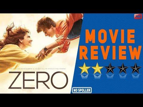 Zero Movie Review  Shah Rukh Khan  Aanand L Rai  Anushka  Katrina