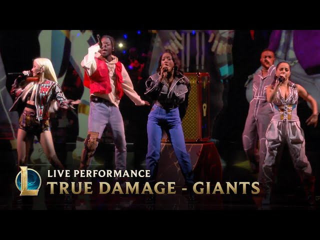 League Of Legends Group True Damage Debuts New Song Giants