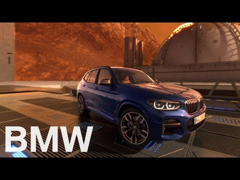 BMW X3. On a 360°mission to mars. A virtual testdrive.