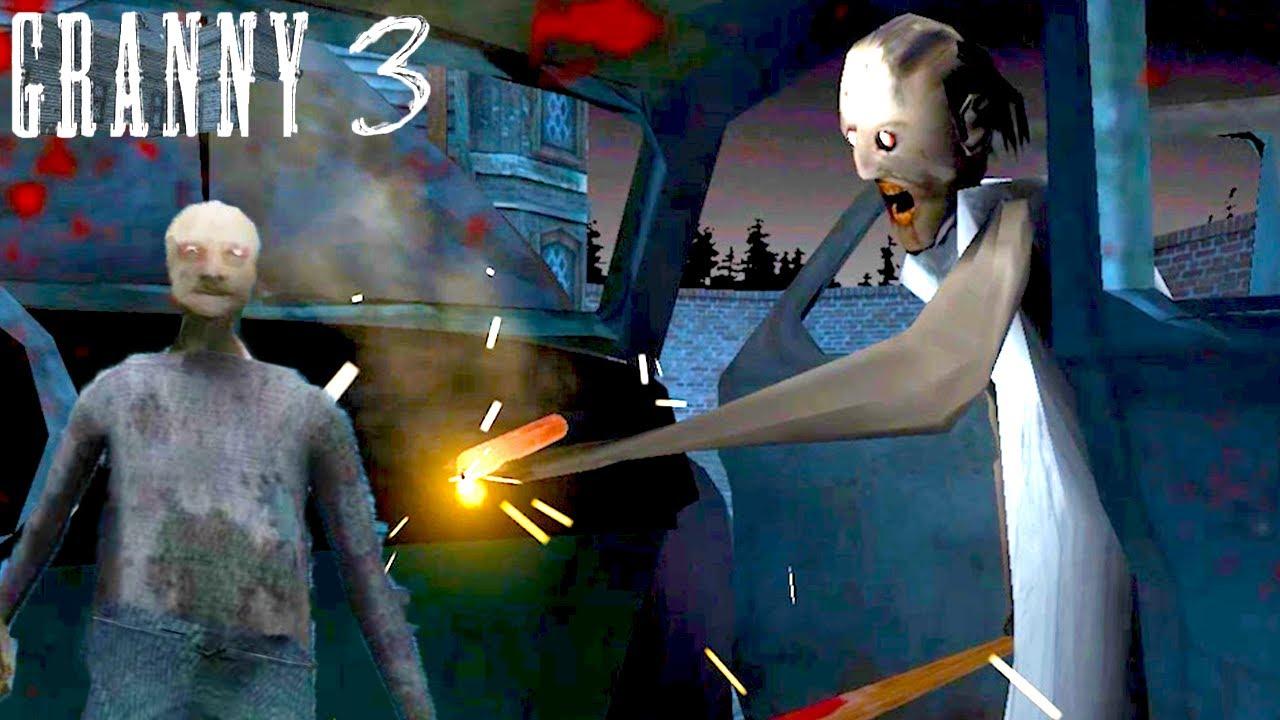 世界で2億回以上ダウンロードされた脱出ホラーゲーム最新作「 Granny3 」がおもしろすぎる