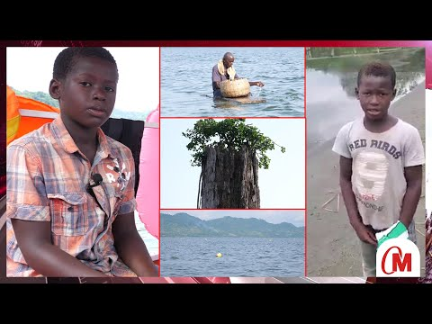 Download Meet The 12yrs Guy Who Went Viral For Giving History About Lake Bosomtwe..