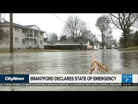 Brantford declares state of emergency, evacuates residents due to flooding