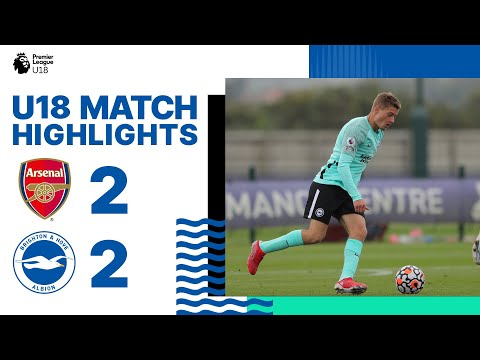 MU18 Goals: Arsenal 2 Albion 2