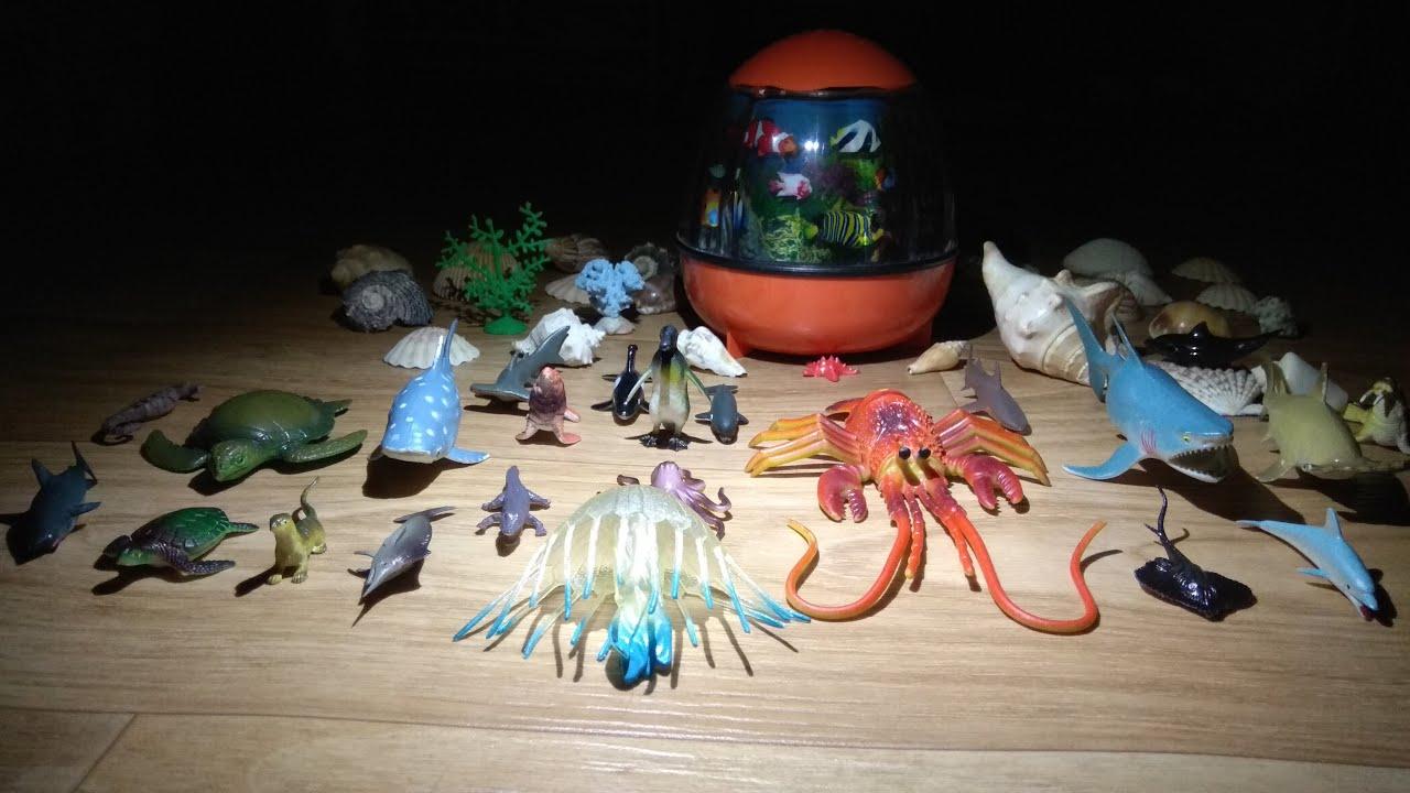 Movie 3: Sea World of Toys - Learn Sea Animal Names