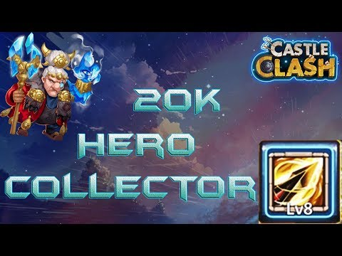 20K Hero Collector - Trying To Get Zealous Drive | Castle Clash