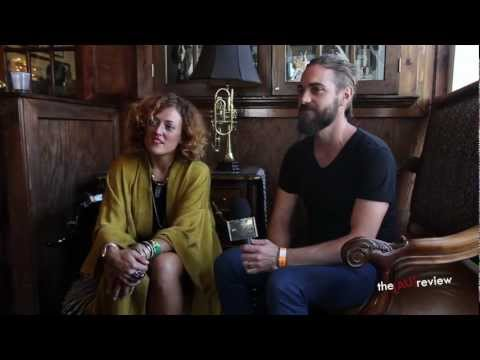 Ginger & the Ghost - SXSW 2013 interview at The Aussie BBQ
