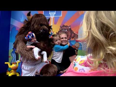 Thunder Open Pediatric Playroom at INTEGRIS