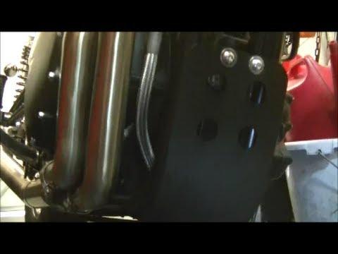 Delboy's Garage, Triumph Bonneville Pt #8 Sump Guard