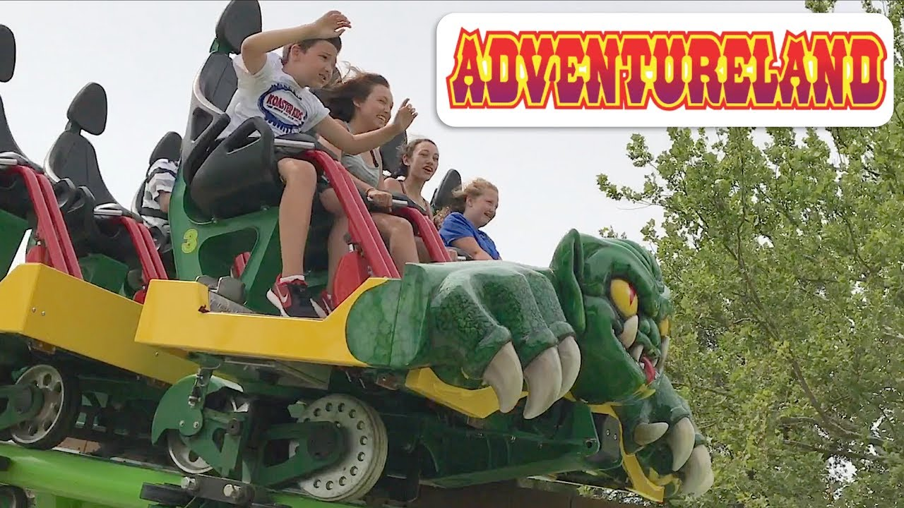 Koaster Kids At Adventureland Youtube