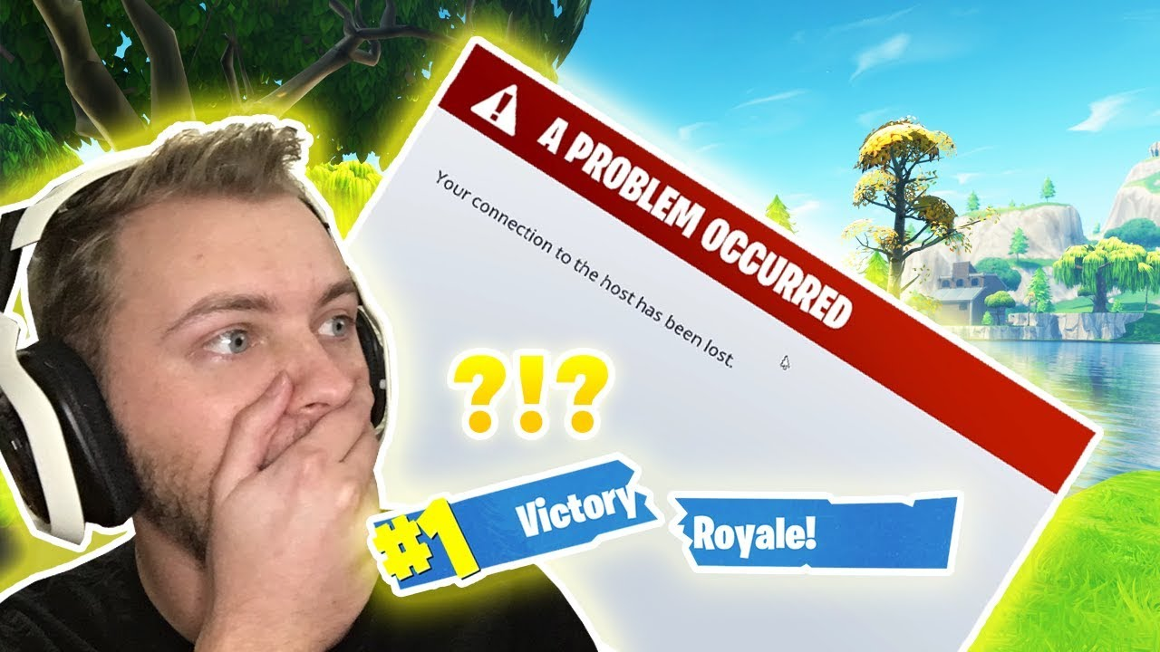 getting kicked from the game fortnite battle royale gameplay - fortnite kicks me out when i jump