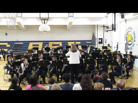 Ruckus Los Cuates Middle School Honor Band