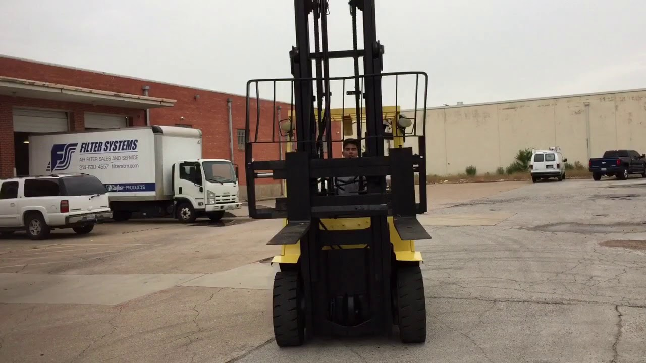 Hyster H80XM Forklift - Reconditioned-Forklifts.com 4K LIFT CO. on