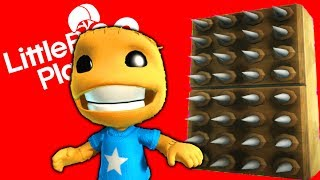 Kick The Buddy 50 Ways To Die - LittleBigPlanet 3 PS4 Gameplay | EpicLBPTime