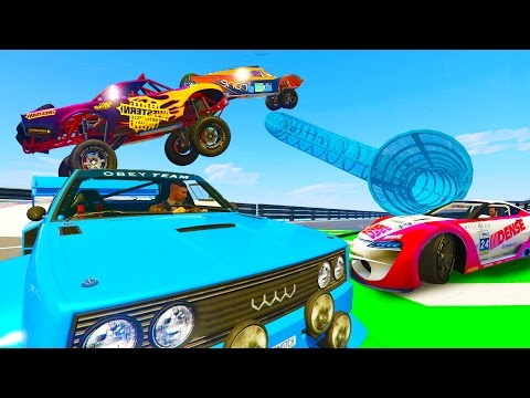 New BEST EVER GTA 5 ROCKSTAR STUNT RACES!!! w/ Typical Gamer (GTA 5 DLC Gameplay)