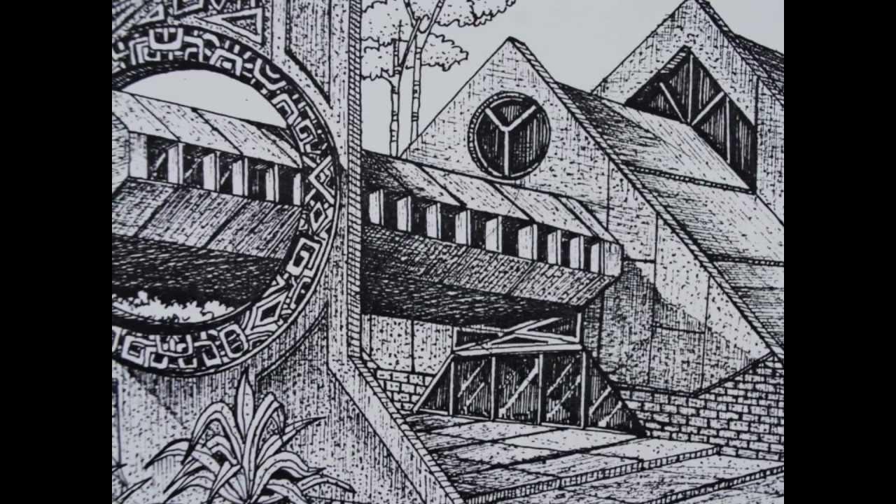 Dibujos de arquitectura y arte digital artista david sosa youtube - Mesa de dibujo para arquitectura ...