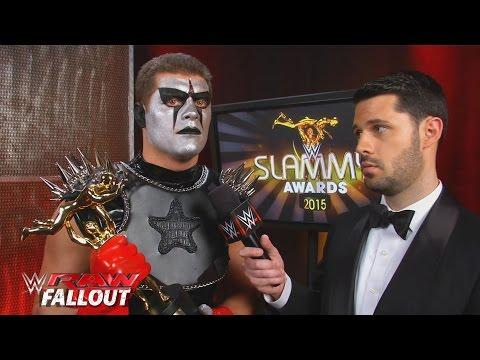 Stardust steals Stephen Amell's Slammy Award: Raw Fallout, December 21, 2015