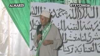 Khutba Ustadh Muhammad Al Beidh, Mawlid Faqihil Muqaddam Kibokoni 2012
