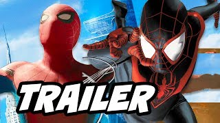 Spider-Man PS4 Gameplay Trailer Breakdown and Homecoming Easter Eggs