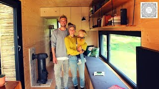 Life in shipping containers - couple builds a Tiny House in Portugal
