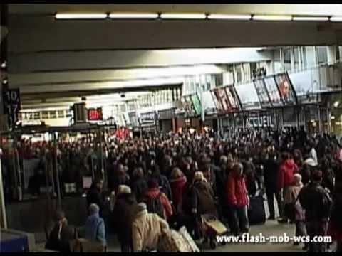 Flash Mob de WCS N°3 - 11 février 2012 - Gare Montparnasse - Vidéo Officielle