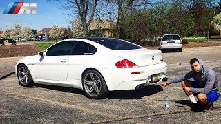OUR STRAIGHT PIPED BMW V10 M6 IS BACK! *REPAIRED SMG*