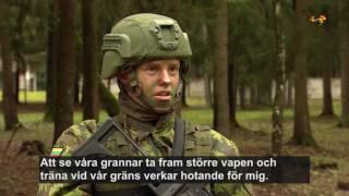 Litauen förbereder för rysk invasion