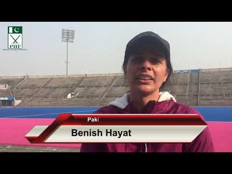 Pakistani Female Umpire Beenish Hayat