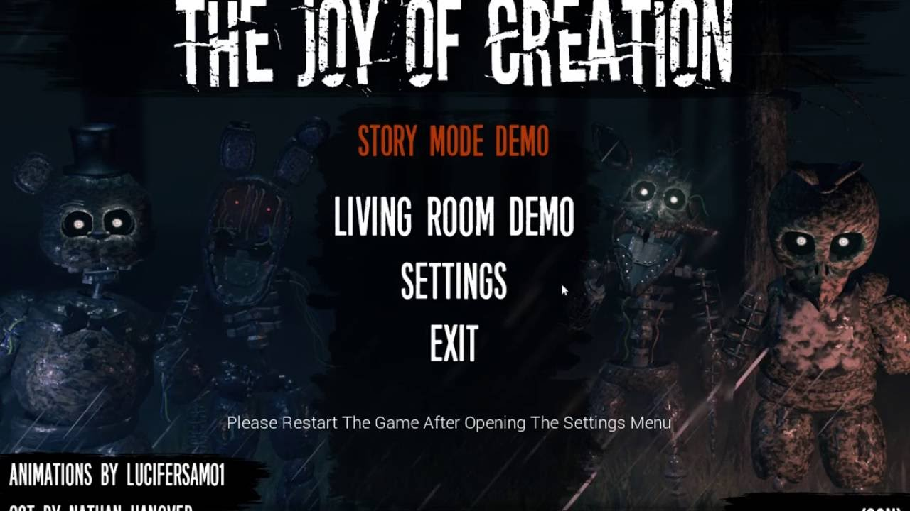 The Joy of Creation: Reborn (Story Mode Demo Gameplay) | No ...
