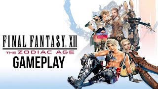 FINAL FANTASY 12 THE ZODIAC AGE Gameplay & First Impressions (Final Fantasy XII PS4 Remastered)