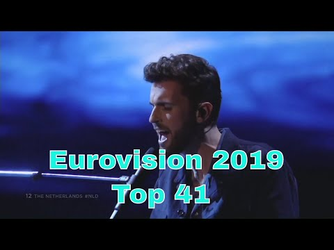 Eurovision 2019- My Top 41
