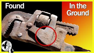 Restoring an Antique Pipe Wrench Found when Excavating at 130 Year Old Farm