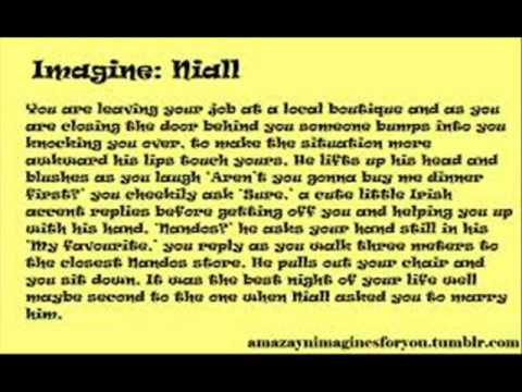 one direction imagines alot of niall youtube