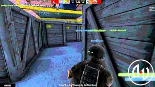 Begone | Fun war |[Hash]| vs -=R.E.D=- (Warehouse match 09/01/2013)