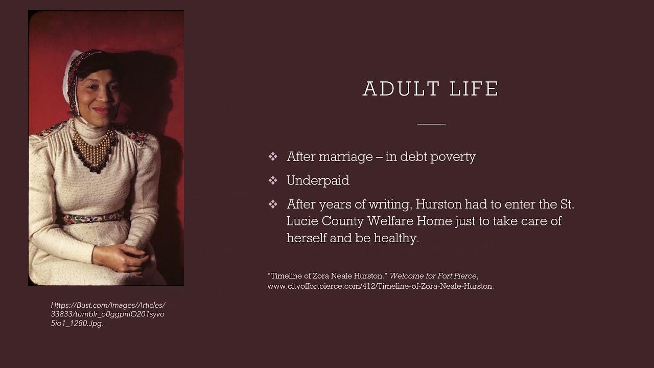 Biography of Zora Neal Hurston
