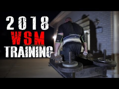 2018 WORLDS STRONGEST MAN | TRAINING HIGHLIGHTS | 4X WSM BRIAN SHAW