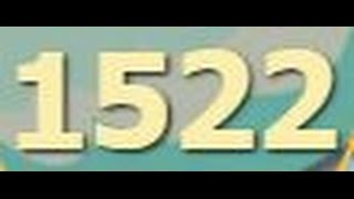 сокровища пиратов уровень 1522 прохождение - Pirate treasures level 1522 walkthrough