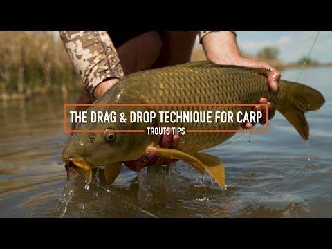 Trouts Tips - Using The Drag & Drop Technique For Carp
