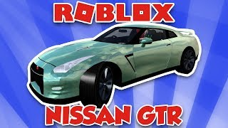 MY BRAND NEW NISSAN GTR in ROBLOX VEHICLE SIMULATOR | DRAG RACES | CAR STUNTS