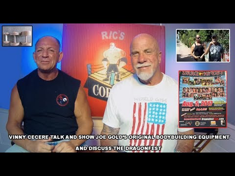 Gold's Gym Original  Bodybuilding Equipment   Ric & Vinny Cecere